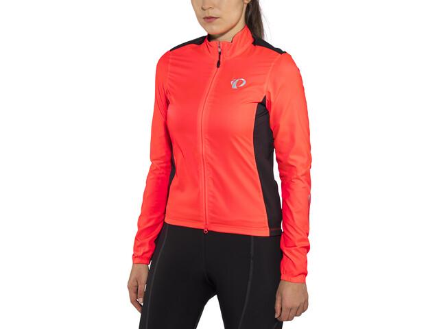 PEARL iZUMi Elite Pursuit Hybrid Jacket Women fiery coral/black